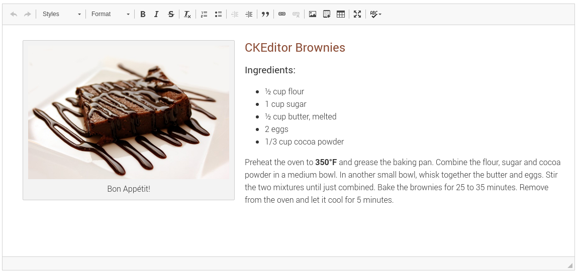 Create content with multiple features with CKEditor Gem