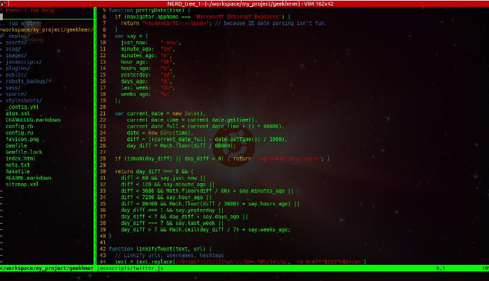 Vim - The Best Programming Editor for UNIX - GeeKhmer